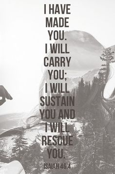 He will sustain you