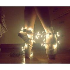 dancer & lights. How beautiful!!