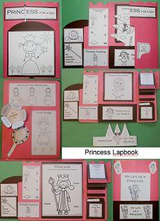 crown princess, color sheet, princess color, templat, princess crowns, flip book, book princess