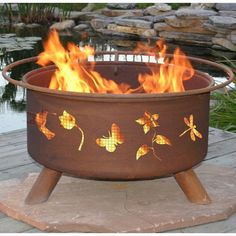 Have to have it. Patina Flower and Garden 31-Inch Fire Pit $229.99