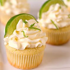 Margarita Cupcakes!  Oh yes, I must try these.