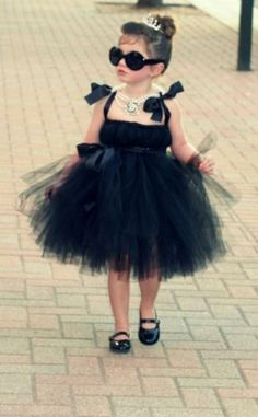 tutu costumes, little girls, halloween costumes, costume ideas, breakfast at tiffanys