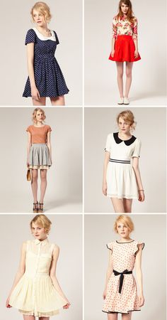 such cute dresses!