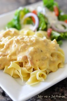 """Crock Pot Creamy Italian Chicken - sounds easy enough for the monthly """"Family Dinner"""". I'll have to probably triple the recipe for 25 people"""