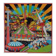 Retro Carnival Poster Vintage Carnival