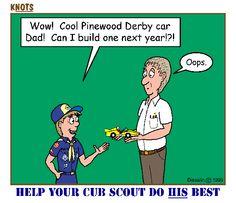 boy scout, cub scouts, help, villa, pinewood derbi