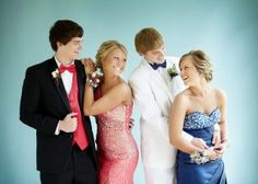 Amazing pose for double couple pictue :) Me and Livi on prom night??