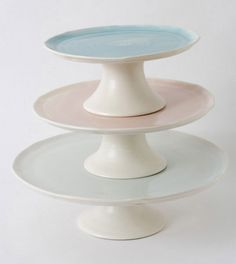 Cake stands by Linda Bloomfield
