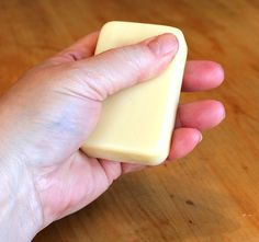 Ditch the jar...pick up the bar! Make your own lotion bars.