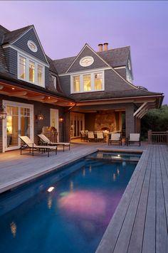 Shingle Style Beach House