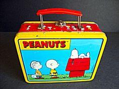 Peanuts Lunch Box, Metal