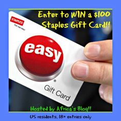 Staples $100 Gift Card Giveaway – Save big with Staples!! #BTS2014 (ends9/14)