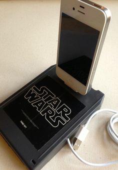 Atari game cartridge iPhone charger. Wow.