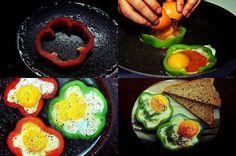 christmas morning, food, home health, bell peppers, omelett, healthy breakfasts, green peppers, flower, egg whites