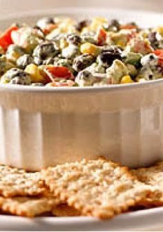 Southwest Avocado Bean Dip – Big flavor, smart choice. This healthy living appetizer recipe is easy and sure to be a crowd favorite.