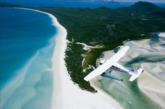 Whether you're lazing on the beach or flying over it - Whitehaven Beach is a must do in the Whitsundays.