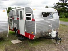 2012 White Water Retro camper. Brand new with retro good looks!  That will do!!