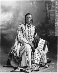 Chief High Eagle, Blood, Calgary, AB, about 1925