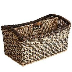 Basket for under the lockers...maybe to hold hats and mittens