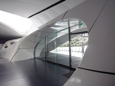 zaha hadid: chanel mobile art pavilion paris   designboom