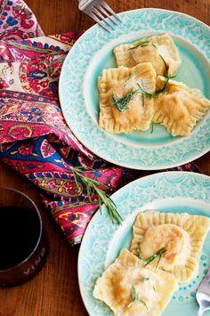 Eat Yourself Skinny!: Pumpkin Ravioli