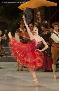 ooo la, marc haegeman, oksana bondareva, mikhailovski ballet, ballet 2013, don quixote