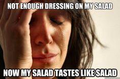 First World Problems. LOL @Debbie Barnes
