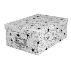 Pioneer Black & White Photo Storage Box-Six Assorted Designs