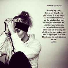 This is perfect! A runners prayer