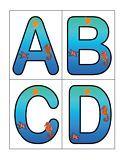 Oceans letters and literacy activities for preschool, pre-K and Kindergarten