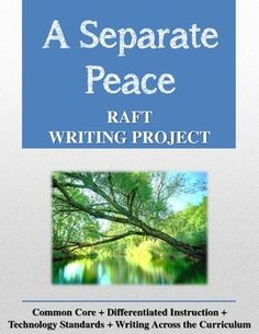 novel and separate peace chapters essay Immediately download the a separate peace summary,  analysis of chapters 1-3 in a separate piece  a separate war in john knowles' novel a separate peace,.