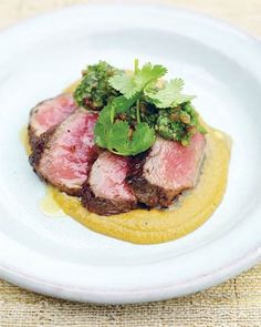 1 steak 2 sauces by Jamie Oliver