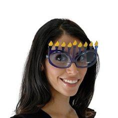 Amazon.com: Elope Menorah Glasses (Black/Black): Toys & Games