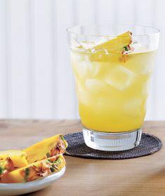 Sparkling Pineapple Ginger Ale #brunch