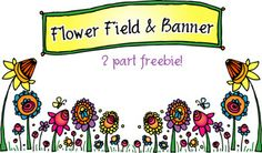 This colorful 2 part FREEBIE is sure to get you in the mood for SPRING! For instant smiles, simply plant this sassy little garden across the bottom of your page... and then float the banner across the top! Available for a limited time only. (4/23/14) Get yours today!