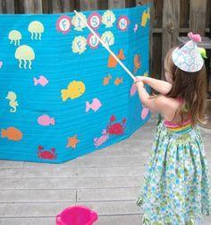 Little Mermaid Birthday Party Games  ,Little Mermaid Birthday Party Ideas