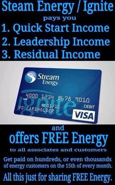 stream energy ignite