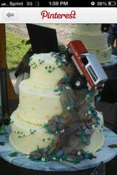 Mud Truck cake