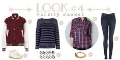 How to Wear: Varsity Jacket | Collage Vintage