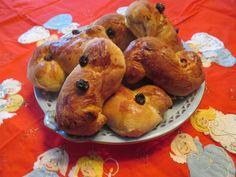 How to make St Lucia Saffron Buns -- Lussekatter - A Swedish Saint Lucia Bun Recipe