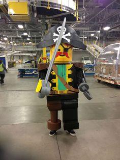 Custom Captain Redbeard Lego Costume - Imgur