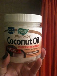 Coconut oil gets rid of Keratosis Pilaris (tiny bumps on the back of upper arms and backs of thighs) It is an amazing product for Deodorant, moisturizer and many many other things like allergies, gallstones, etc. It's true!! I give it to my dog
