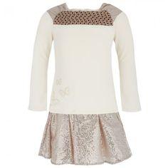 Kenzo Metallic Skirt and Tee Set