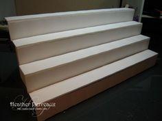 Foam board shelves  http://www.paper-castle.com/2011/09/18/foam-board-is-the-best-thing-ever/