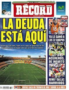 Monterrey 8 septiembre del 2014  - RÉCORD