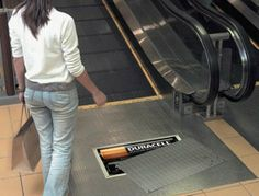 Awesome Duracell guerrilla marketing campaign.Brought to you by SHoplet Promos- Everything for your business. www.shopletpromos.com