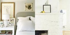 How To: Transform a Fireplace Mantel into a Headboard