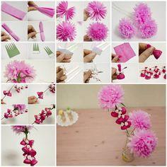 How to Make Beautiful Crepe Paper Flowers and Chocolates | iCreativeIdeas.com LIKE Us on Facebook ==> https://www.facebook.com/icreativeideas