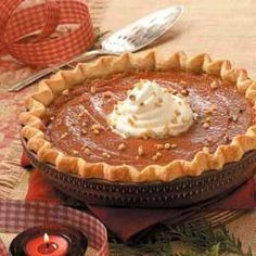 Pumpkin Pie Recipes from Taste of Home  #Thanksgiving