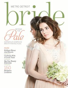 Metro Detroit Bride Summer 2014 --Check out the beautiful pictures (and couple!) of Lovett Hall starting on page 51